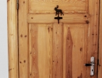 Ein Elch im Schwedenzimmer.