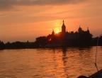 Abendstimmung auf dem Schweriner See